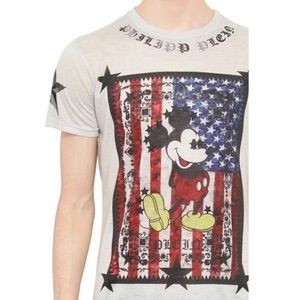 PHILIPP PLEIN Mickey Mouse USA Limited edition tee